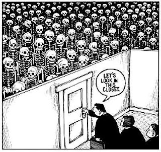 Image result for skeletons in the closet
