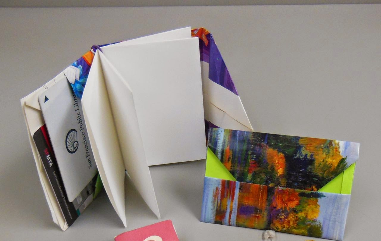 Dots Rainbow My First Youtube Videoorigami Envelope Book