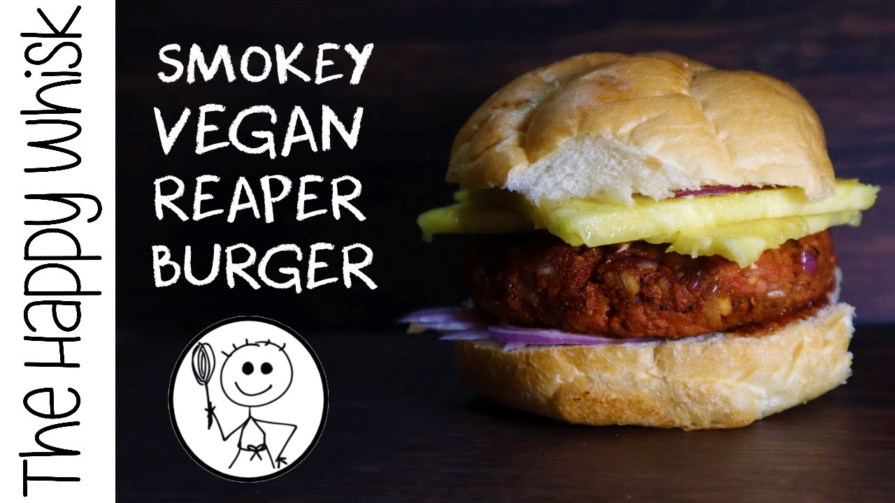 Smokey Vegan Reaper Burger