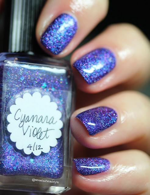 Lynderella Cyanara Violet