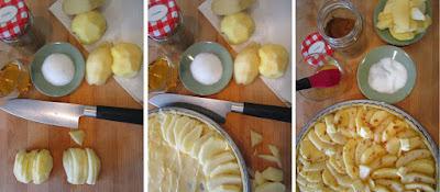 Tarta de pera y manzana (Siempredulces) - Elaboración Paso 13