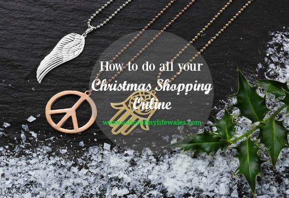 how to get all of your Christmas shopping completed without leaving the house