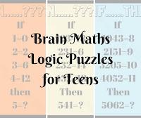 Brain Maths Logic Puzzles for Teens