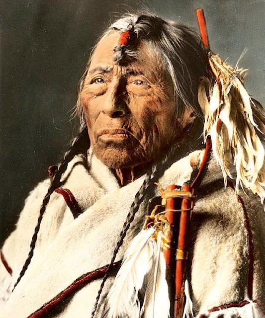 15 Photos Couleurs Rares Des Indiens D Amerique Du 19eme Et 20eme Siecle 1