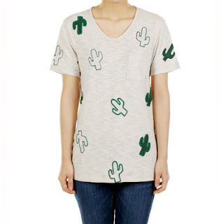 Cactus T-shirt, KRW 24,900
