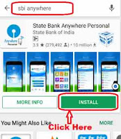 how to use sbi anywhere app in windows phone
