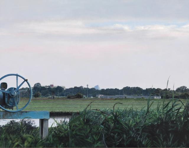 アートアジェンダ 美術館 展覧会レポート 第2回ホキ美術館大賞準賞受賞作 《ガスタンクのある風景》 後藤勇治