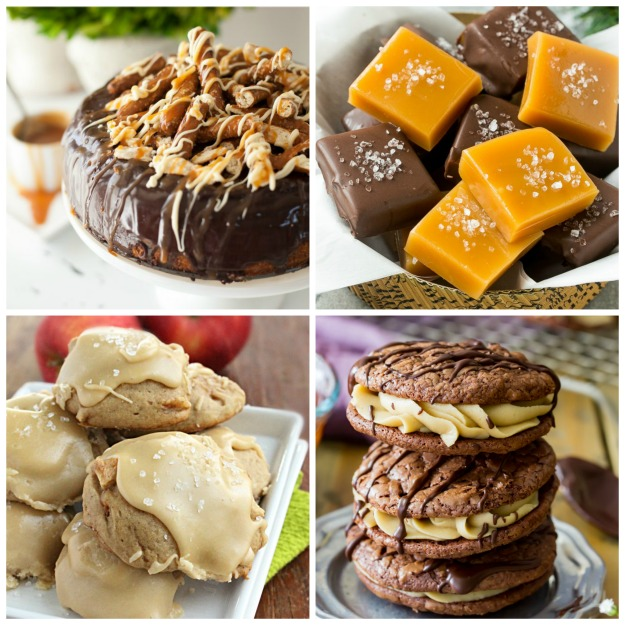 15 Salted Caramel Recipes to Enjoy  from Table for Seven