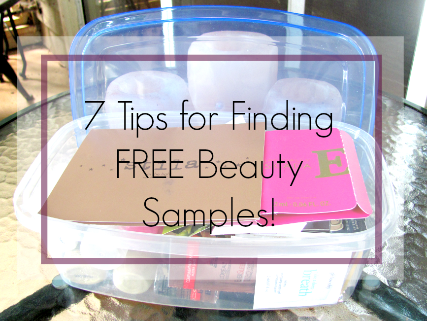 free-beauty-samples, beauty-sample-tips