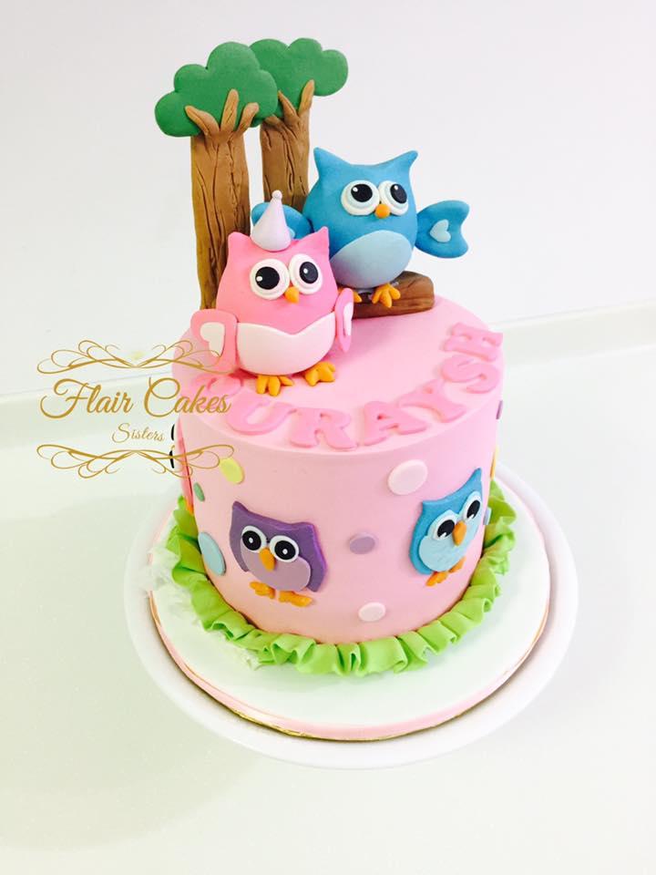 Flair Cakes Sisters Birthday Cakes