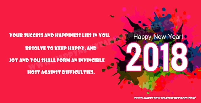 2018 Happy New Year status