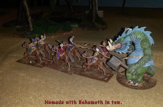 Nomads with Behemoth in tow