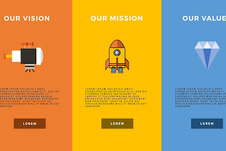 Rocket infographicon premium and free powerpoint templates vision mission and values infographic presentation free powerpoint template toneelgroepblik Choice Image
