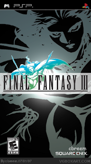 Final Fantasy III PSP GAME