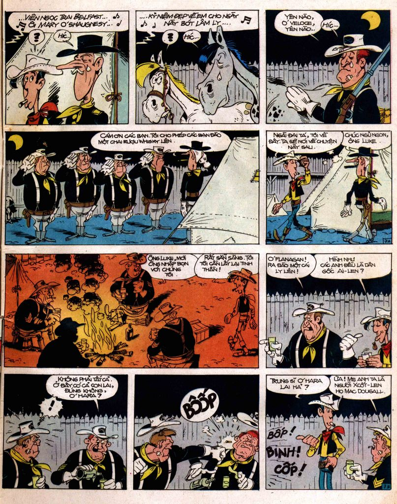 Lucky Luke tap 12 - khe vuc apache trang 7