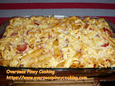 Baked Penne Pasta Dish