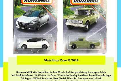 Matchbox Case M 2018