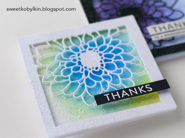 Die Cuts Multiple Layer Heat Embossing
