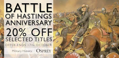 Osprey: Battle of Hastings Anniversary - 20% Off Selected Titles