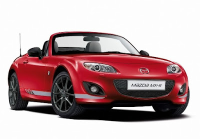 The Mazda MX-5 Safety Features: Traction, LED Headlamp