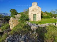 Crkvica sv. Nikola, Sumartin, otok Brač slike