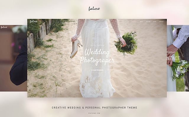Wedding Photographer Theme WordPress Theme