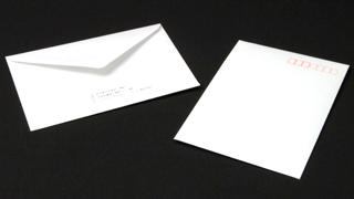 洋形2号封筒(ダイヤモンド貼り)