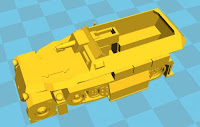 Sd Kfz 251/9 75mm halftrack (12mm)
