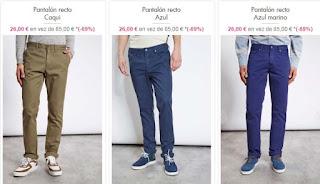 pantalones chinos para hombre