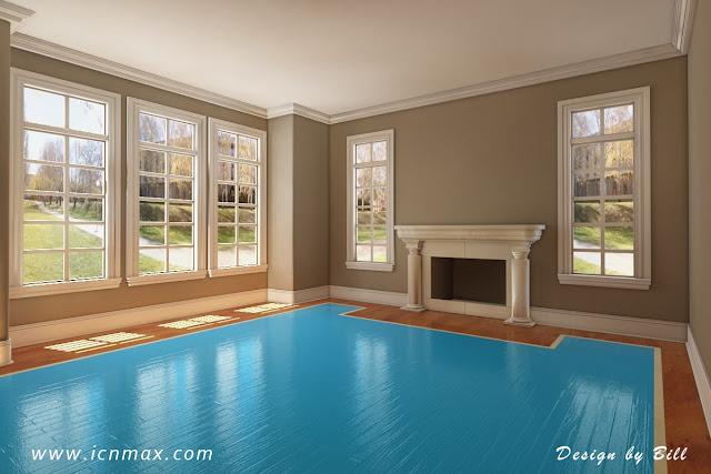 3dsMax歐式客廳設計作品