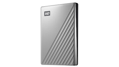 WD 4TB My Passport Ultra Silver Portable External Hard Drive