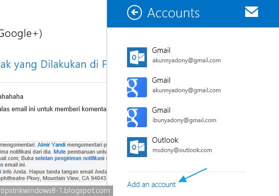 "Cara Menggunakan Aplikasi ""Mail"" di Windows 8.1"