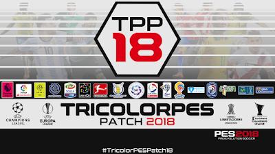 PES 2018 TricolorPES Patch 2018 Season 2017/2018