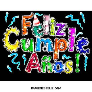 Feliz Cumpleaños Amiguita amiguis Cartel muy colorido y juvenil