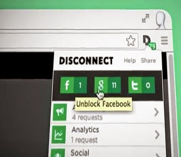 3. Disconnect -