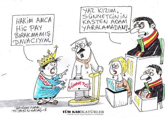 sünnetçi karikatürü