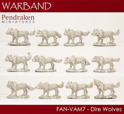 FAN-VAM7   12 x Dire Wolves