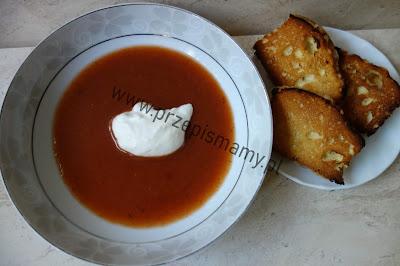 Zupa owocowa ze śliwek