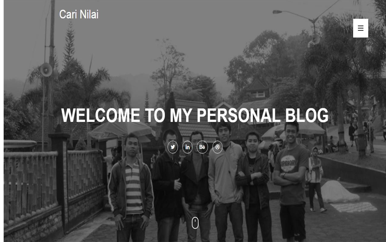 Welcome to My Personal Blog