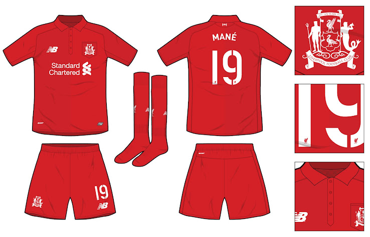 finest selection 3bfb7 f2361 Liverpool 17-18 Anniversary Concept Kit by Steevo - Leaked ...