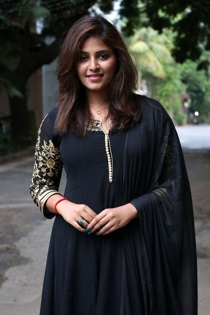 Anjali at Taramani Thanks Giving Meet Photos