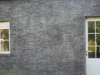 Pavimentar la terraza con hormigón impreso