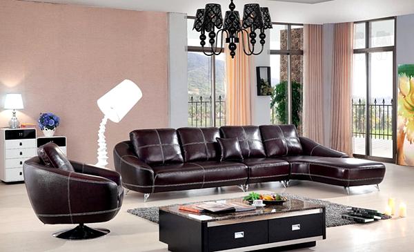 Model Kursi Sofa Minimalis Terbaru Untuk Santai di Ruang Keluarga - Kursi Sofa Minimalis Kulit Mewah