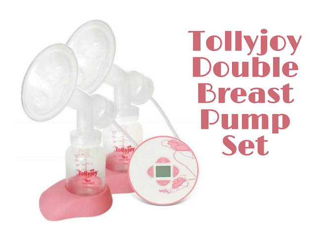 Tollyjoy Double Electric Breast Pump Set