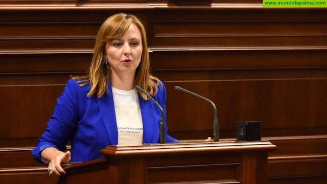 Nieves Lady Barreto pide al Gobierno de Canarias que exija al Estado autorizar ya el uso del superávit