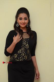 Telugu Actress Manasa Manohar Stills in Black Long Dress at Naku Nene Thopu Turumu Trailer Launch  0019.JPG