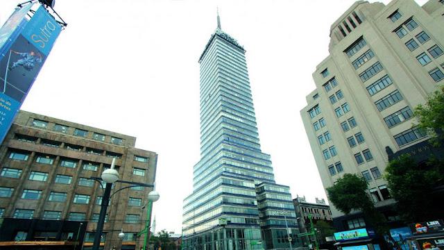 Cumple años torre Latinoamericana México