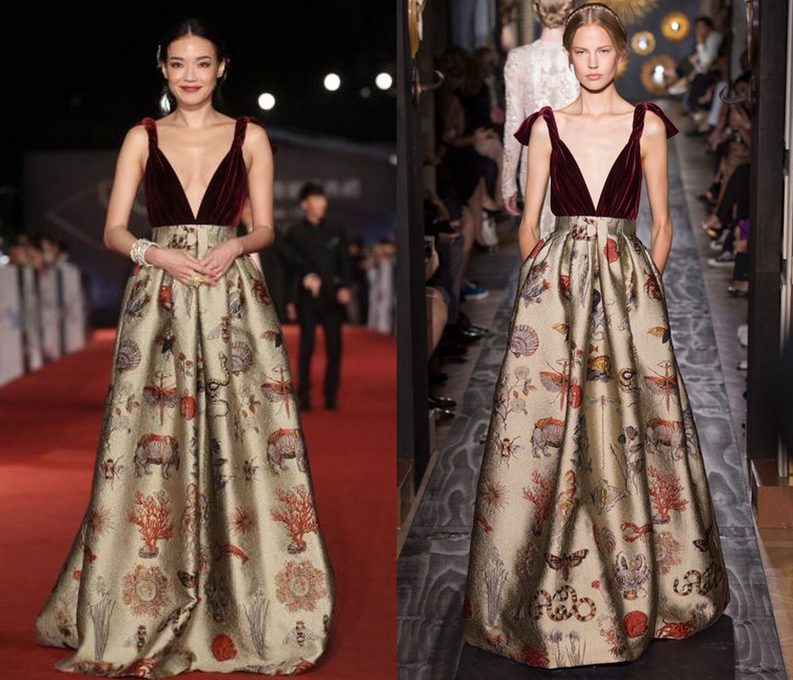 Couture 50th Golden Horse Awards Shu Qi - Valentino
