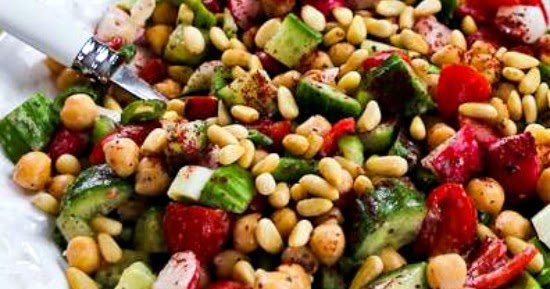 Kalyn's Kitchen®: Fattoush-Inspired Chopped Salad with ...