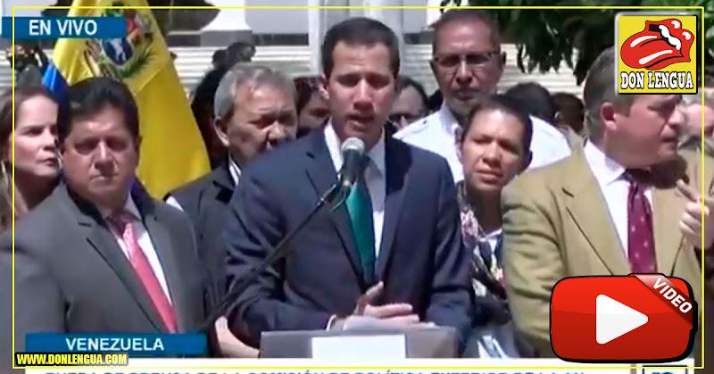 Maduro intenta robarse 1200 millones de dólares hacia Uruguay y Guaidó lo descubre